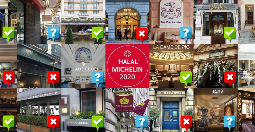 Michelin Restaurants Halal London Cross Contamination