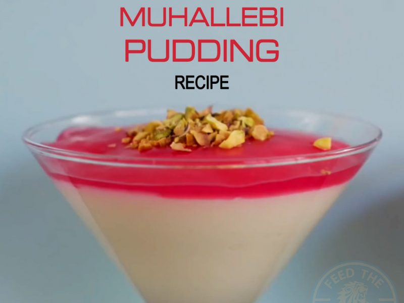 Milk Muhallebi Pudding Recipe for Ramadan