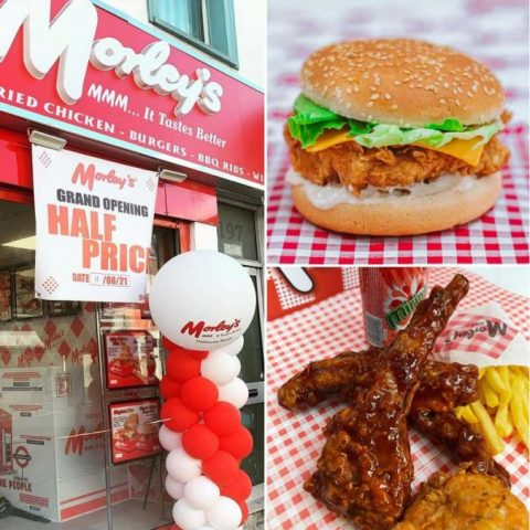 Morley's Halal Chicken Restaurant Holloway London