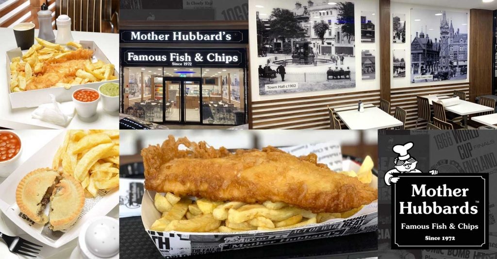 Mother Hubbard's Leicester Halal HMC Fish & Chips