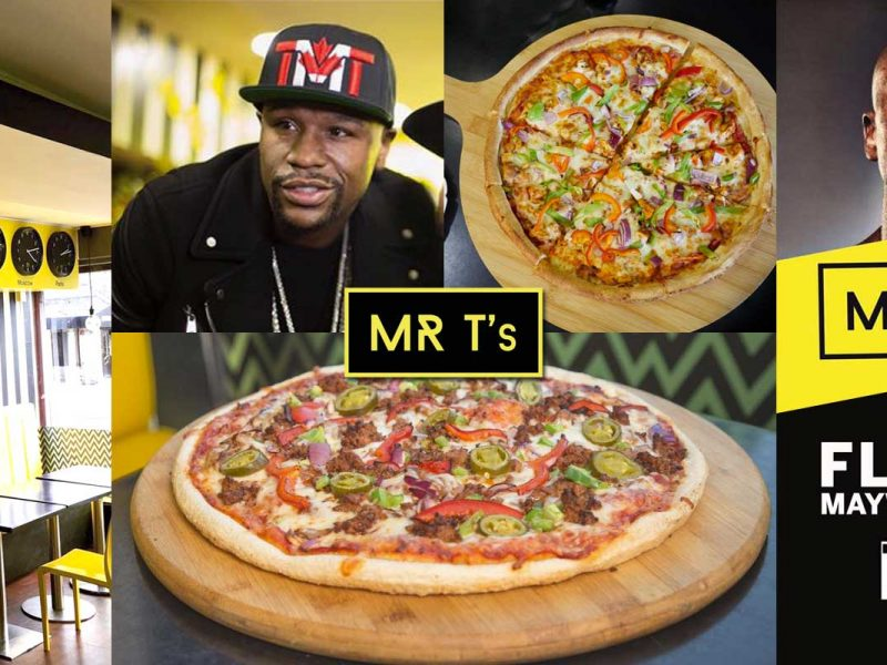 Mr-T Bradford Pizza Floyd Mayweather