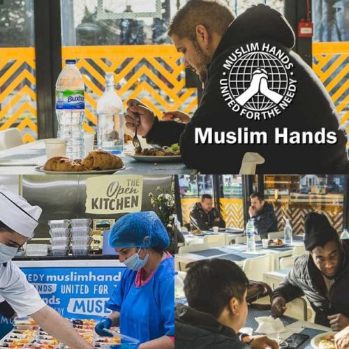 Muslim Hands charity Hounslow The Open Kitchen