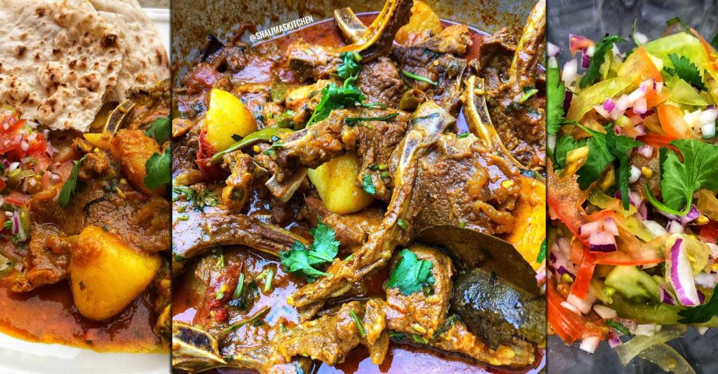 Mutton Curry Shalima's Kitchen Instagram Food Blogger