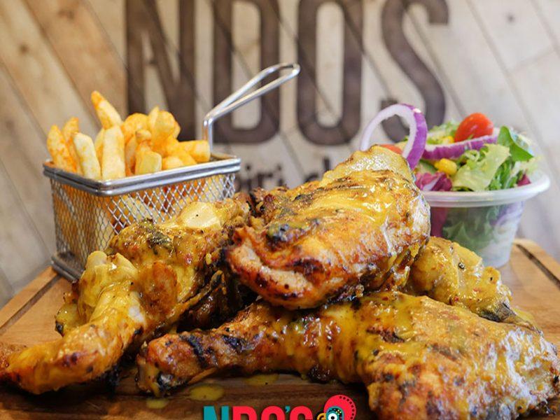 London's Halal piri piri chicken NDO's in Ilford nandos