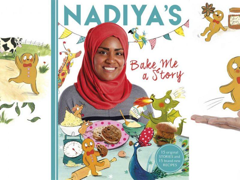 Nadiya Hussain Great British Bake Off Bake Me a Story World Book Day