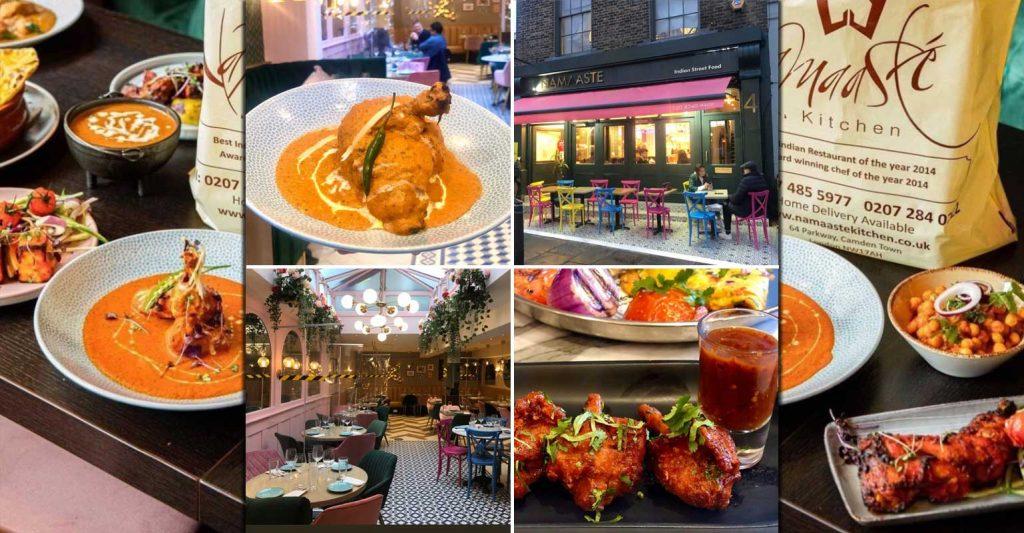 Namaaste Highgate Kitchen Salaam London Restaurant Halal