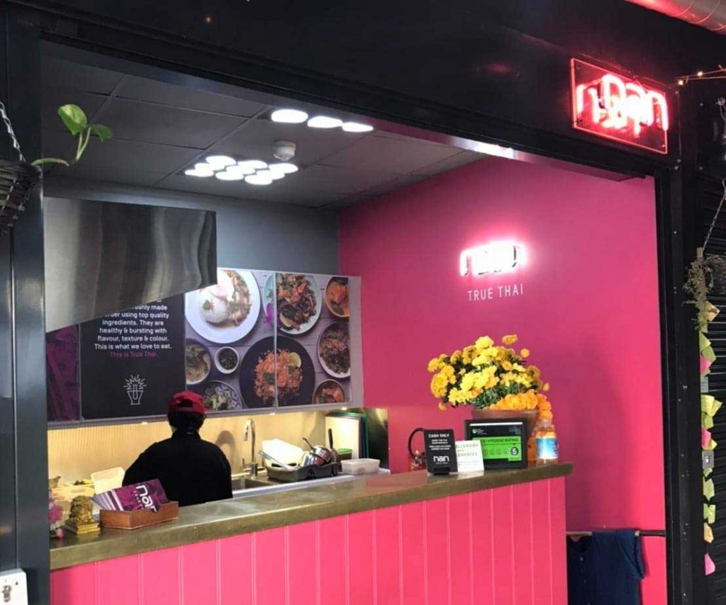 Nan True Thai The Junction Market Halal Street Food London