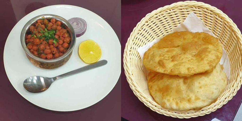Chana Puri Nashtawala Leicester Indian Breakfast Tandoor Chai
