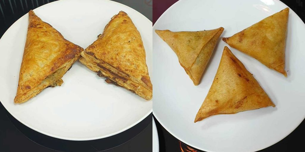 Pastries Samosa Nashtawala Leicester Indian Breakfast Tandoor Chai