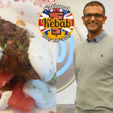 National Kebab Day Lamb Seekh Raheel Mirza