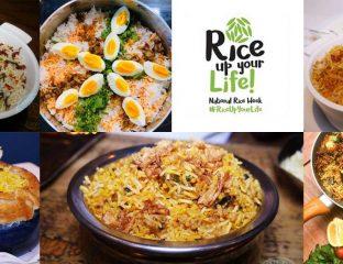 National Rice Week 2020 Biryani Restaurants London Recipes