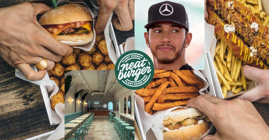 Neat Burger Lewis Hamilton Vegan