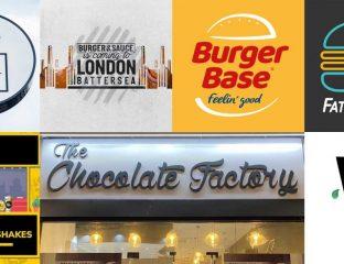 BRGR LDN Chocolate Factory restaurants Halal London Slough