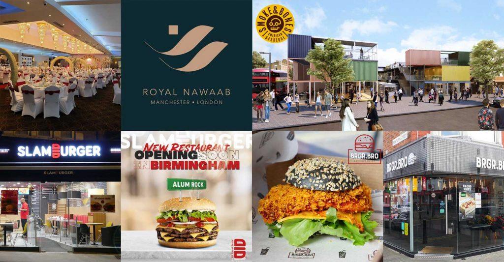Royal Nawaab Burgers Indian Steaks Sliders Birmingham Camden Ilford Batley