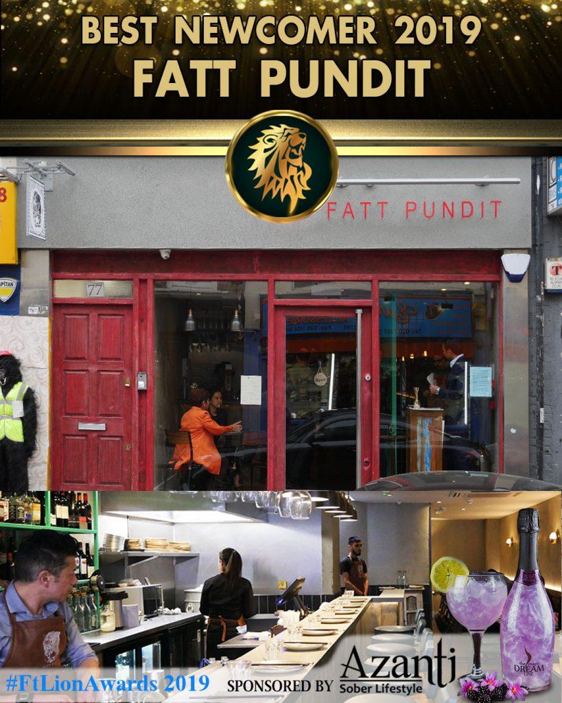 Newcomer Halal London Indian Restaurant Awards