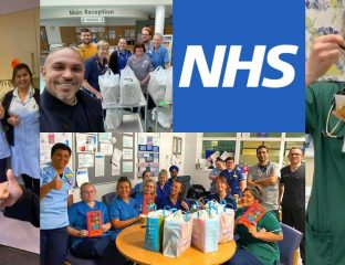 Coronavirus NHS Food Card Donation Halal