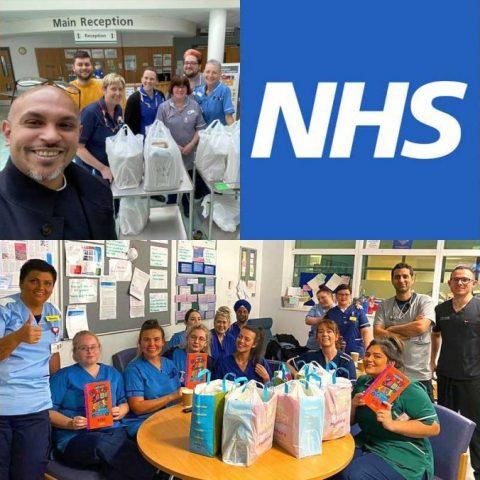 Coronavirus NHS Food Card Donation Halal