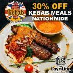 National Kebab Day Halal restaurant Layalina-Knightsbridge