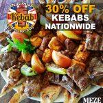 National Kebab Day Halal restaurant Meze East Bourneftl