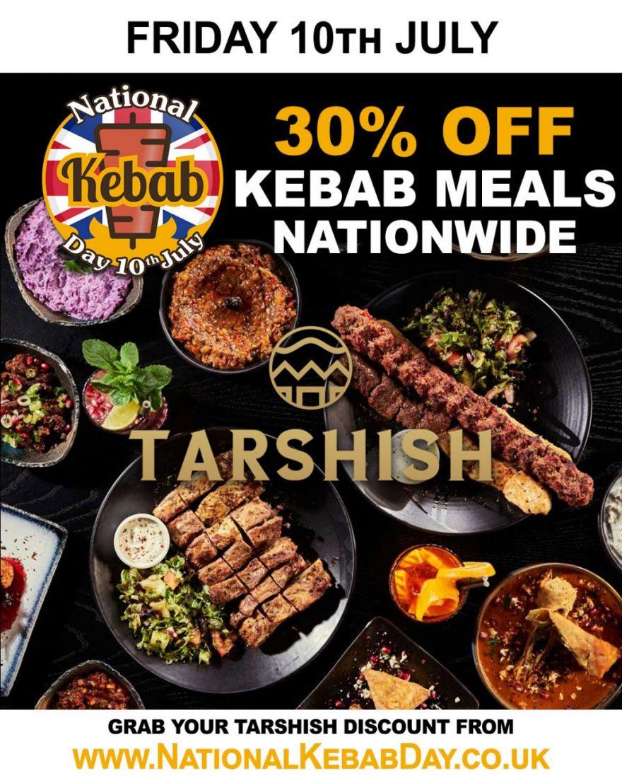 National Kebab Day Halal Restaurant Tarshish Wood Green Feed The Lion