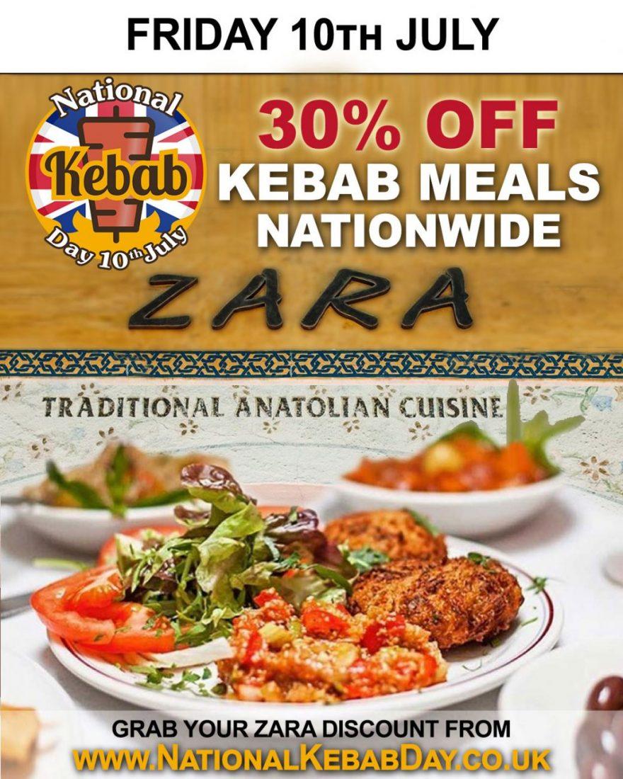 National Kebab Day Halal Restaurant Zara Hampstead Heath Feed The Lion