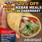 National Kebab Day Halal restaurant  London wraps zabardast