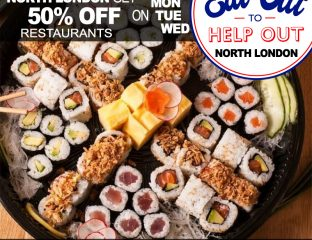 Eat Out To Help Out 50% off North London Restaurants Mitsurye