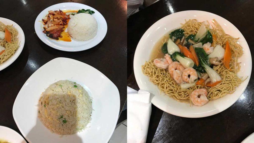 Prawns Chicken Noodle Oddle Bayswater Chinese Halal Restaurant