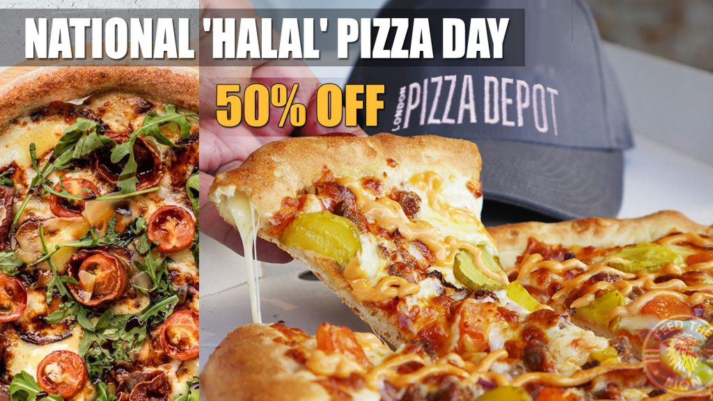 50% off National Pizza Day in London - London Pizza Depot