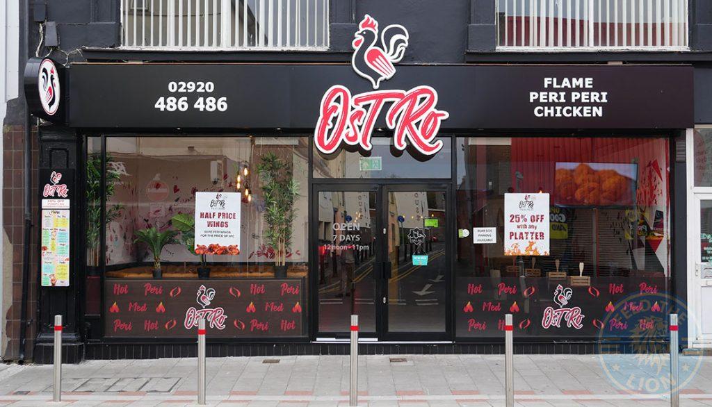 Ostro (Peri Peri) Cardiff chicken Halal restaurant