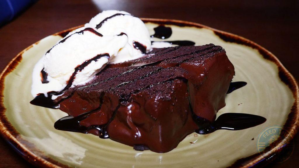 CHOCOLATE FUDGE CAKE £3.99
