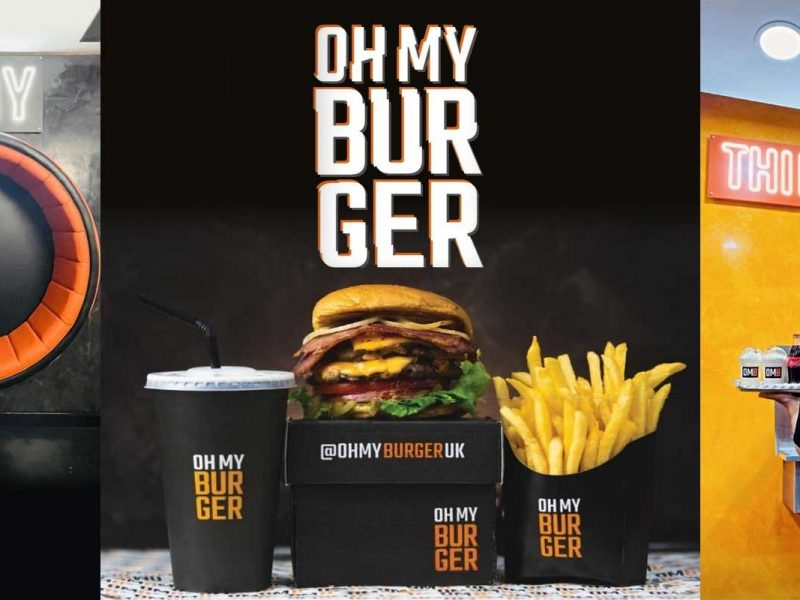 Oh My Burger Manchester Halal Restaurant