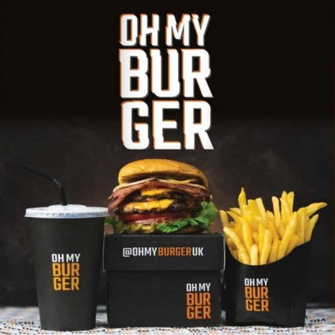 Oh My Burger Manchester Halal Restaurant