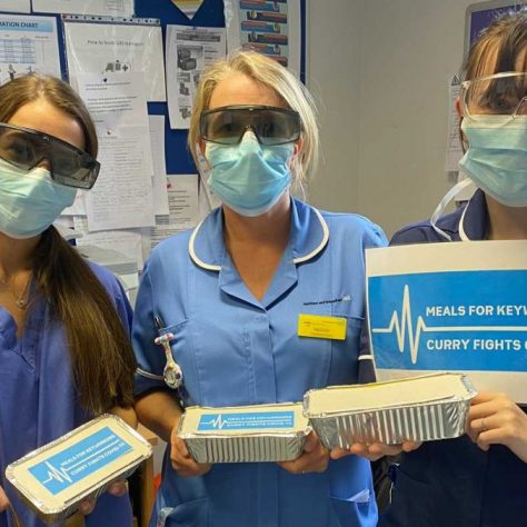 One Million Meals NHS Hospitals Police Donations Covid-19