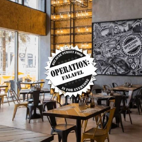 Operation Falafel Restaurant Halal Miso Group London Dubai