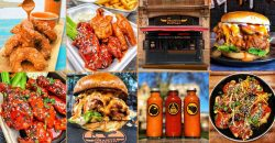 The Orange Buffalo Halal Chicken Wings London Soho