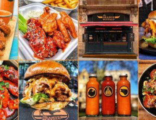 The Orange Buffalo Halal Chicken Wings London Soho