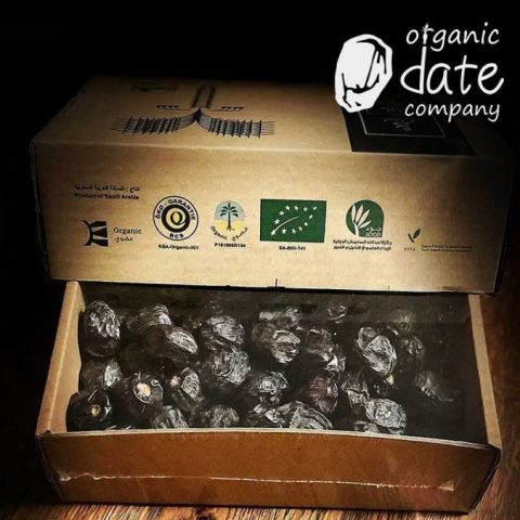 Organic Date Company Certified Middle East Halal