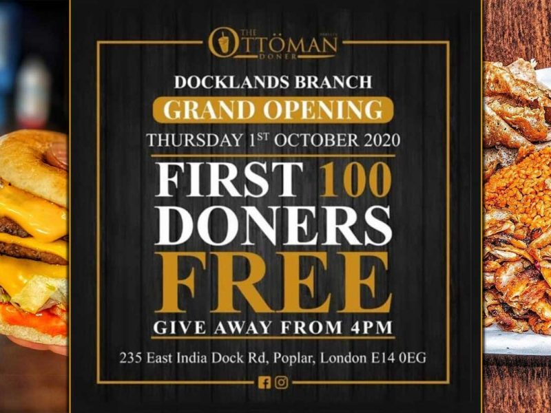 The Ottoman Doner Poplar Halal Kebab London