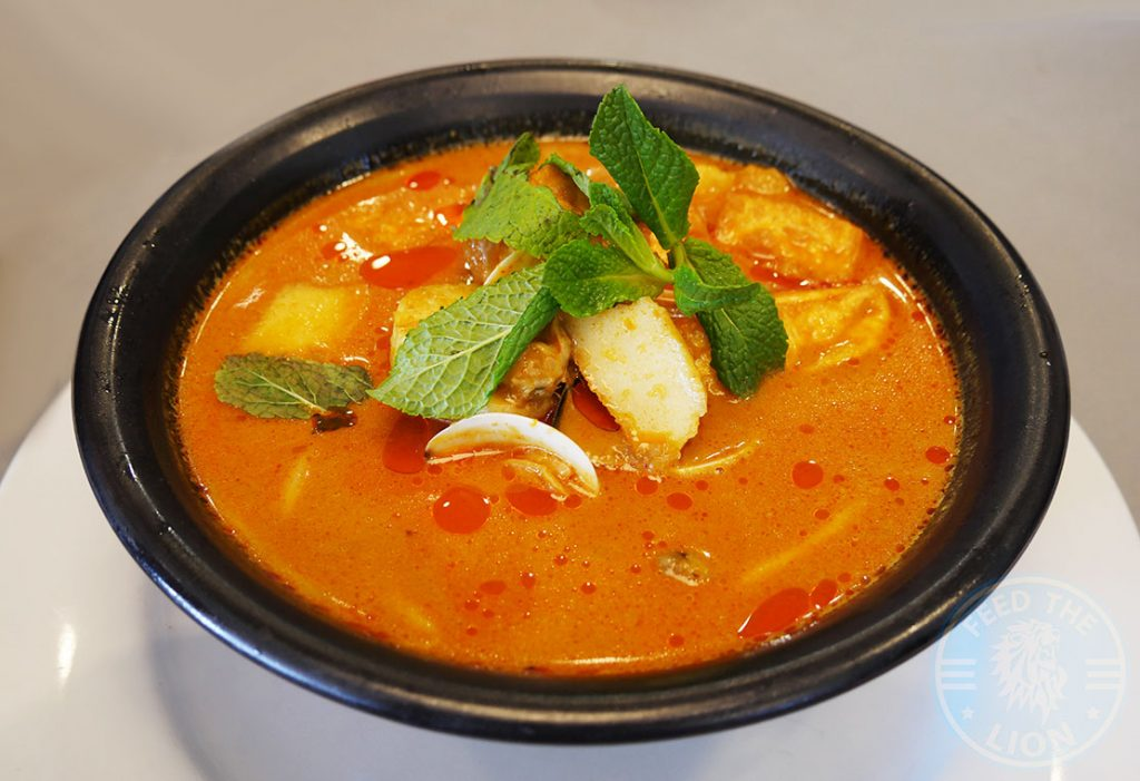 Curry Laksa Ping Coombes Pan Asian Food Halal Selfridges Oxford Street London Malaysian Chinese