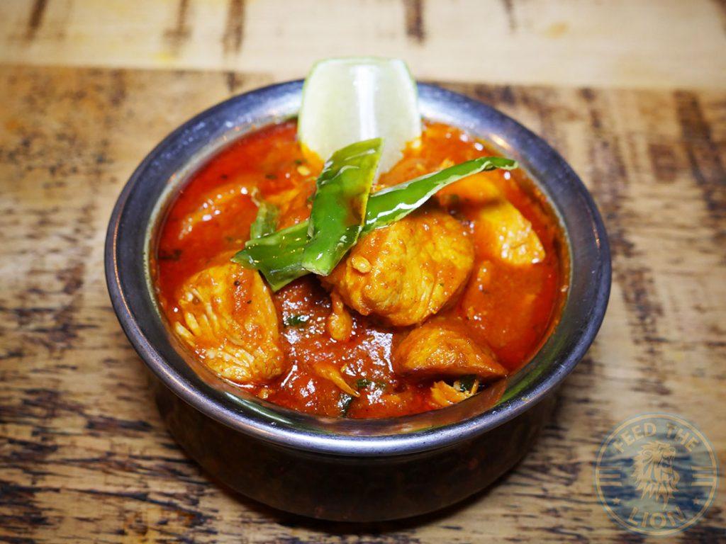 chicken curry Patri Indian Halal restaurant Northfields London