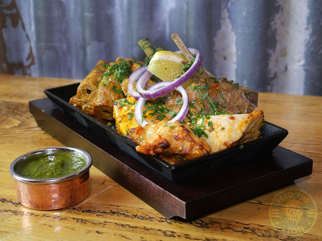 Patri Indian restaurant Kashmiri Ramadan Halal menu mixed grill