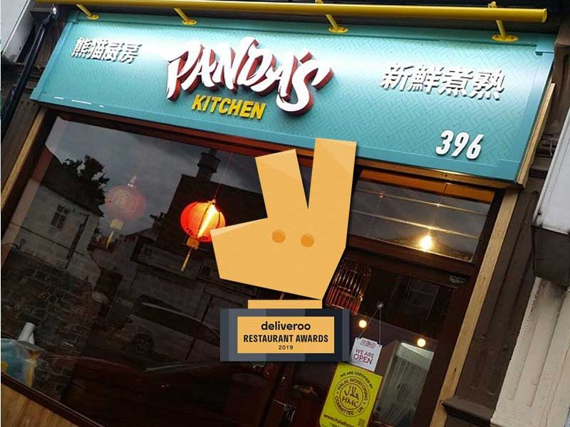 Pandas Kitchen Deliveroo Restaurant Awards