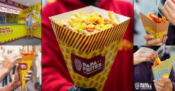 Papa Frites Fries Chips Leicester