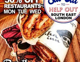 Eat Out To Help Out Paratha Inn Croydon London