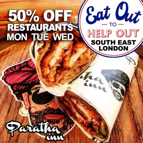 Eat Out To Help Out Paratha Inn Croydon London