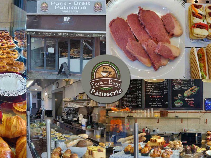 Paris-Brest Patisserie Halal Salt Beef Shepherd's Bush