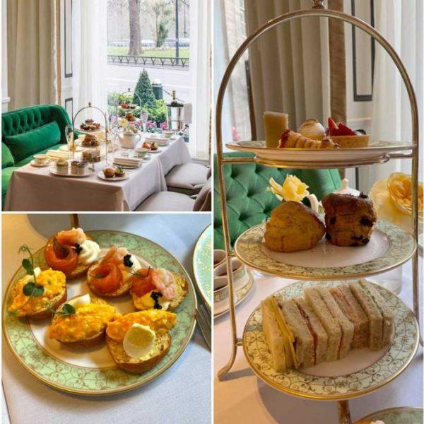 Park Room Afternoon Tea Halal Grosvenor House London Hotel