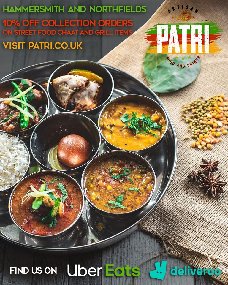 Patri Delivery Takeaway Collection London Restaurants
