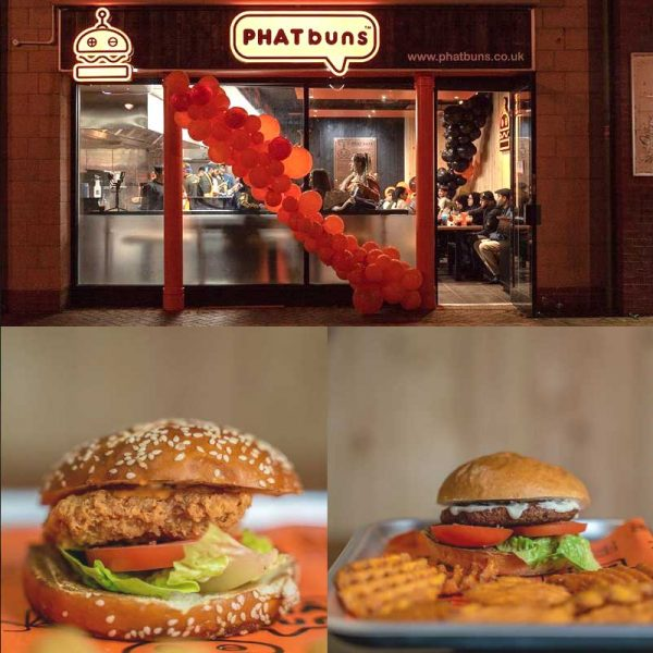 Phat Buns Leicester Smashed Burgers